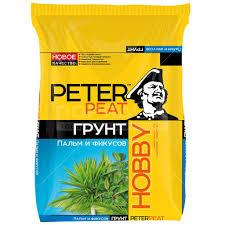 <b>Грунт питательный Peter</b> Peat Hobby для пальм и фикусовХ-09-5 ...