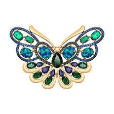 <b>Брошь</b> в форме <b>бабочки</b> из золота <b>SOKOLOV</b> – купить в ...