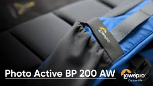 <b>Lowepro Photo Active</b> BP 200 AW - Product Walk Through - YouTube