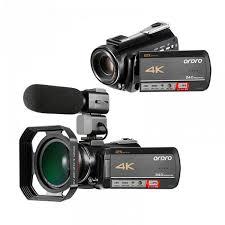 <b>Ordro AC5 4K digital</b> camera 12 times optical zoom professional ...