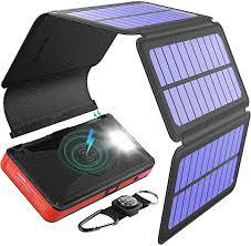 BLAVOR Solar Charger Five Panels Detachable, Qi ... - Amazon.com