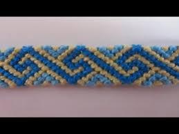 Bracelets Brésiliens / Bracelet à motif Grec | Macrame | Friendship ...
