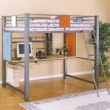 finest white loft bed with desk and stairs bed desk dresser combo home