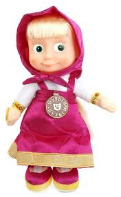 Интерактивная <b>кукла Мульти</b>-<b>Пульти</b> Маша 3 сказки, 30 см ...