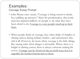 expository essays expository adj serving to expound set forth  examples courage essay prompt john wayne once stated courage is being scared to