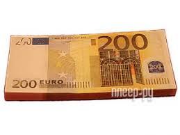 Купить Эврика Забавная Пачка 200 евро 90109 по низкой цене в ...