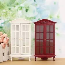 Mobili Per La Casa Delle Bambole : Casa delle bambole in miniatura mobili moderni bianco rosso