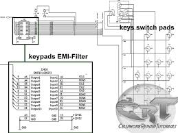 understanding keypads circuit a way to learn how to repair keypad this rows and columns lines are digital switching signals generated by the application processor to trigger or activate every corresponding digital datas