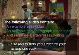 bend it like beckham theme essay task