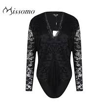 <b>Missomo</b> Top Streetwear <b>Women Sexy</b> Overall Lace <b>Bodysuit</b> ...