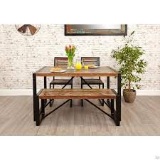 small dining bench: buy industrial reclaimed dining table and chairs bench online with zurleyscouk browse industrial furniture online in the uk