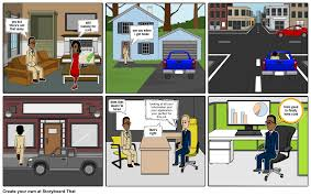 good job interview storyboard by darrell34