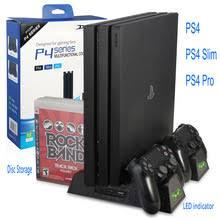 <b>Вертикальная подставка DOBE</b> для PS4/PS4 Slim/PS4 PRO с ...