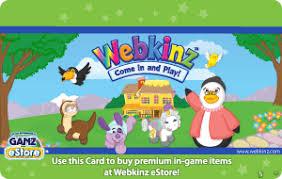 Ganz Webkinz eGift Cards - Streaming & Gaming | eGifter | eGifter