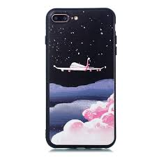 <b>TPU Material Painted Embossed</b> Mobile Phone Case for IPhone 8 ...