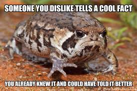 "Are we not making it a meme? I say ""Ticked Off Toad"". : AdviceAnimals via Relatably.com"