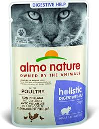 <b>Almo Nature</b> Holistic Digestive Help Wet <b>Cat</b> Food with Poultry (Pack ...