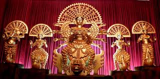 durga puja celebration in silchar