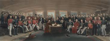 the turning point of chinese history first opium war washington the signing and sealing of the treaty of nanking