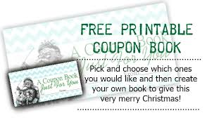 Sweetly Scrapped: Free Printable Coupon Book Free Printable Coupon Book