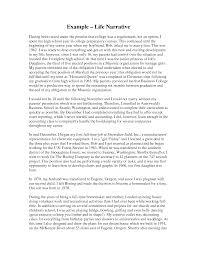 essay examples narrative an example of narrative essay