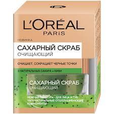 Очищение L'ORÉAL PARIS <b>Сахарный скраб для лица</b>, 3 ...