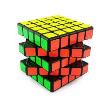 5x5x5 Magic Cube Puzzle Twist Smoothly <b>Educational</b> Toys <b>Black</b> ...