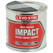 evo stik multi purpose impact instant contact adhesive ml evo stik multi purpose impact instant contact adhesive 250ml