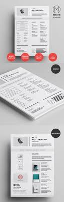 best minimal resume templates design graphic design junction 50 best minimal resume templates 20