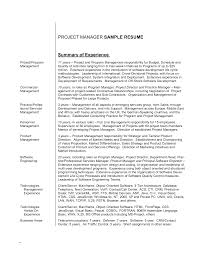 resume how to write a brief curriculum vitae also two layout resume how to write a brief summary of experience for a project manager resume and abillities