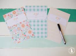 planner the handmade home info pages info blue drop 2017 info brick rosettes 2017 info yellow plaid 2017