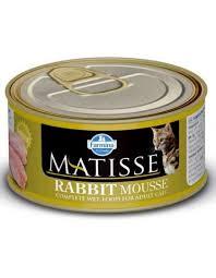 <b>MATISSE Rabbit Mousse</b> мусс для взрослых кошек с кроликом