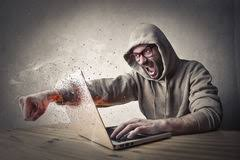 Image result for smashing computer