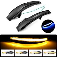 LED Side Wing Rearview Mirror Indicator Blinker Repeater Dynamic ...