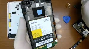 Alcatel One Touch Scribe HD disassembly - YouTube