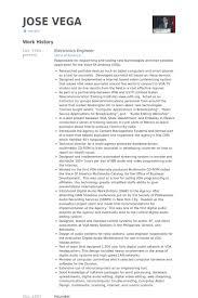 electronics engineer resume samples electronic engineer resume sample