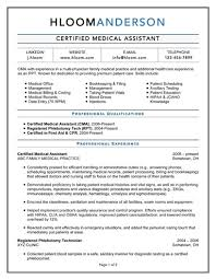 free medical assistant resume samples you can use nowcertified medical assistant