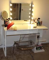 lighted bathroom makeup lighting