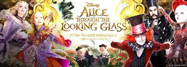 Bilderesultat for alice through the looking glass