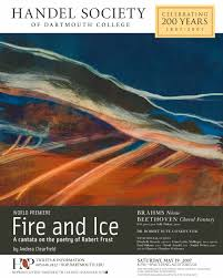 handel soc sposter jpg fire and ice poster painting by louise clearfield
