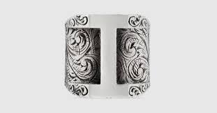 <b>925 Sterling</b> Silver I Letter Ring | GUCCI® International