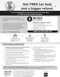 tax help colorado community college of denver tax help co jpeg