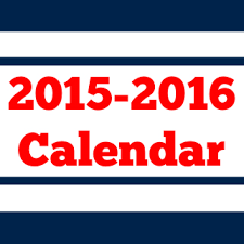 Image result for school calendar 2015-2016