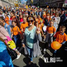 Полосатый наш отряд: праздничным шествием отметил ...