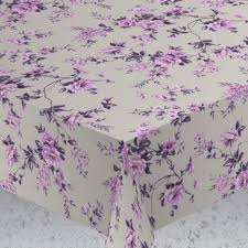 "<b>Скатерть</b> Protec Textil ""<b>Alba</b>. <b>Вальс цветов</b>"", цвет: фиолетовый ..."
