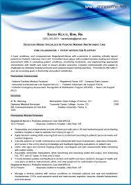 new grad rn resume sample sample new grad nursing resume