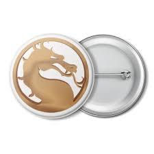 """Значок """"<b>Mortal Kombat</b>"""" #2736034 от GeekFox - <b>Printio</b>"""