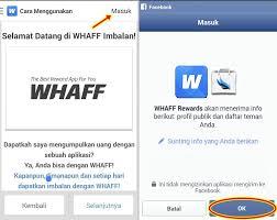 Hasil gambar untuk buka aplikasi whaff