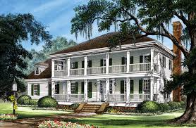Colonial Cottage Country Farmhouse Southern Traditional House Plan    Colonial Cottage Country Farmhouse Southern Traditional House Plan Elevation