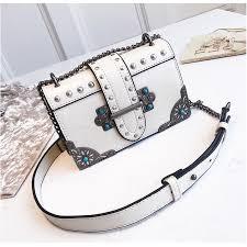 2019 <b>Korean Style Metallic</b> Chain Sling Bag Shoulder Bag | Shopee ...